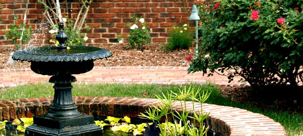 Water features leeds ornamental rockeries garden ponds for Ornamental garden features